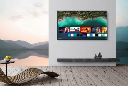 Outdoor Smart TV Built-In Experience: Meet the first outdoor 4K QLED TV and accompanying soundbar