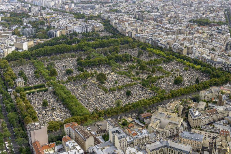 Père-Lachaise Cemetery in Paris