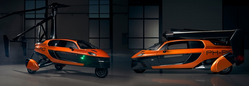 PAL-V Liberty Pioneer is the world's first production model flying car