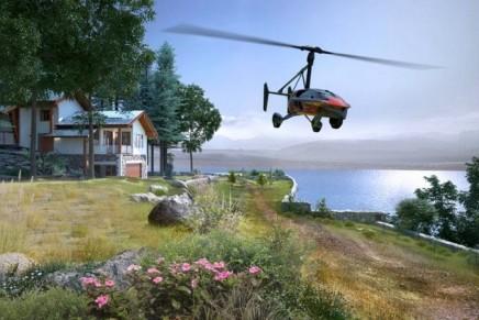 PAL-V reveals the 2018 PAL-V Liberty. A joy to drive, a joy to fly