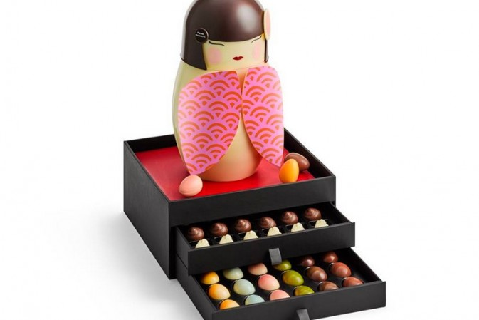 Kawai Easter: Japanese dolls magically morph into Pierre Marcolini's Easter eggs
