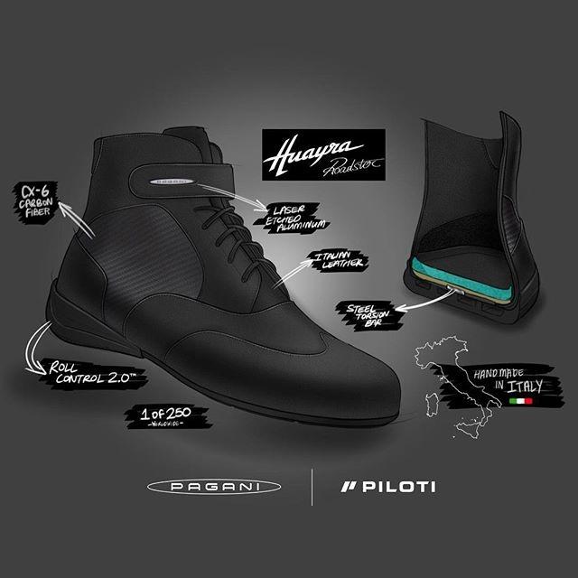 Pagani Piloti luxury driving shoes