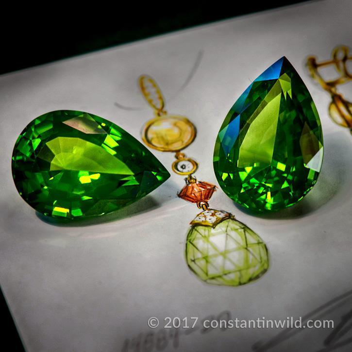 Pakistan Peridot meets design @constantinwild.gems