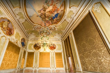Currently a private home, this Venetian Palace is perfect to be converted in a stunning luxury hotel