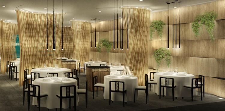 Palm Beach Restaurant Singapore Interior