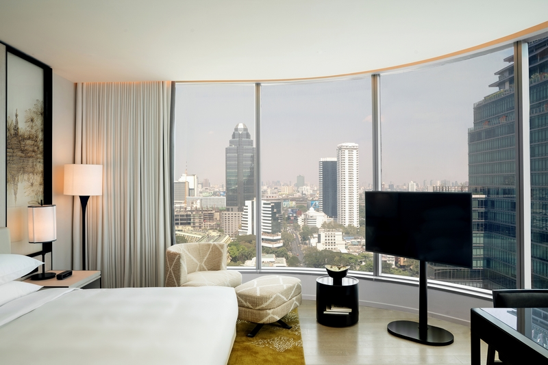 Park Deluxe Guestroom at Park Hyatt Bangkok