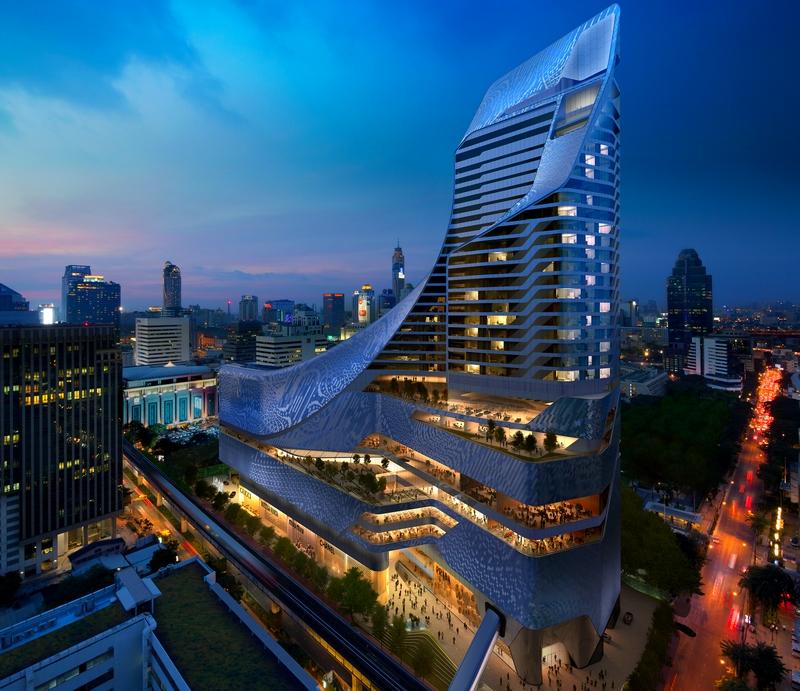Park Hyatt Bangkok luxury hotel opened its doors