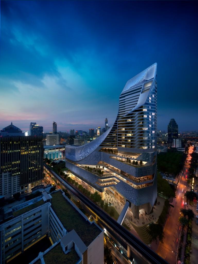 Park Hyatt Bangkok opened its doors