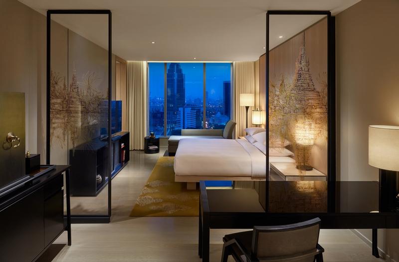 Park King Guestroom at Park Hyatt Bangkok