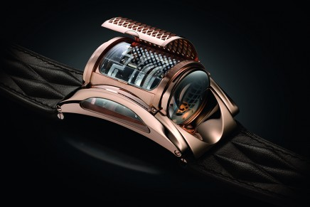 10 years of Bugatti x Parmigiani wrist-worn engine blocks interpretations – The anniversary Edition