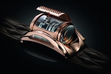 10 years of Bugatti x Parmigiani wrist-worn engine blocks interpretations – The anniversary Edition