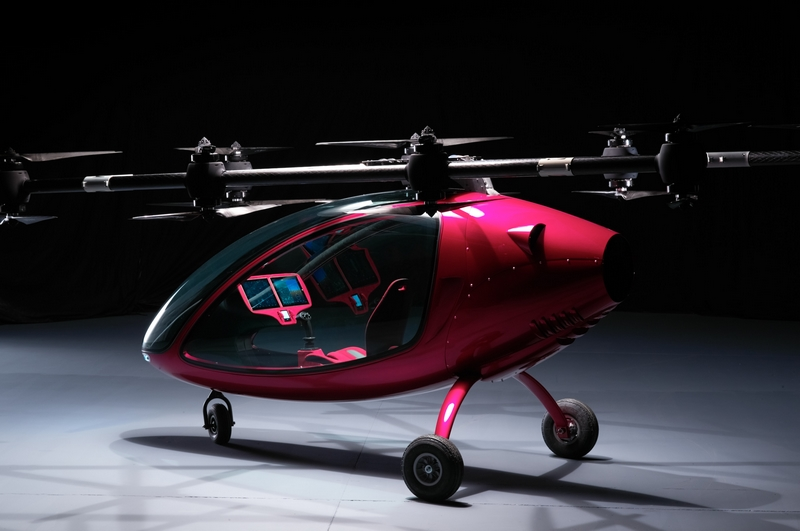 Passanger Drone Photos-