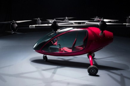 Select Your Destination and The Passenger Drone, the Most Advanced Manned Autonomous VTOL in the World, Takes Over
