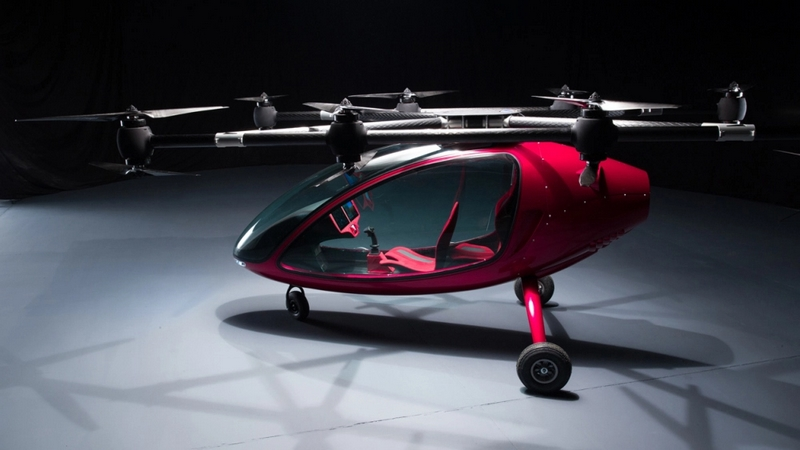 Passanger Drone Photos