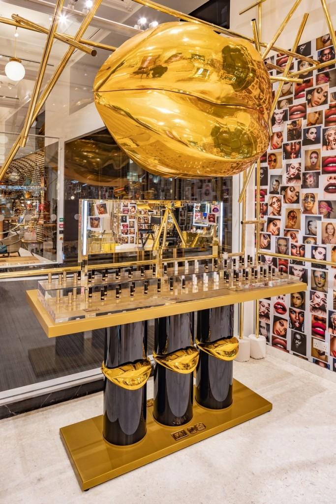 Pat McGrath Labs 2019 Selfridges interior
