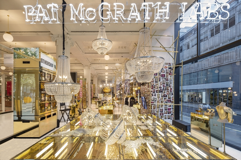 Pat McGrath Labs 2019 - interior MOthership