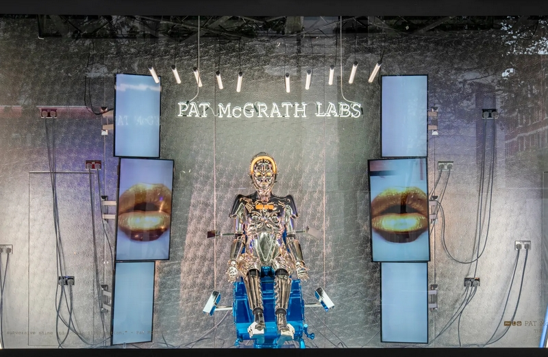 Pat McGrath Labs Windows Selfridges