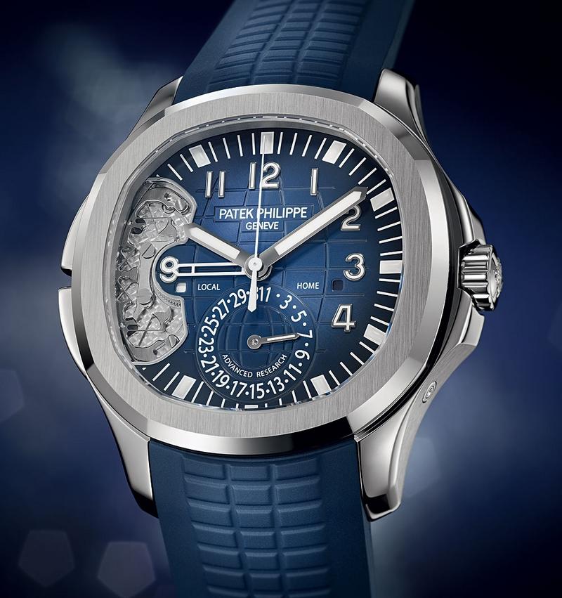 Patek Philippe Aquanaut Travel Time Ref 5650G-