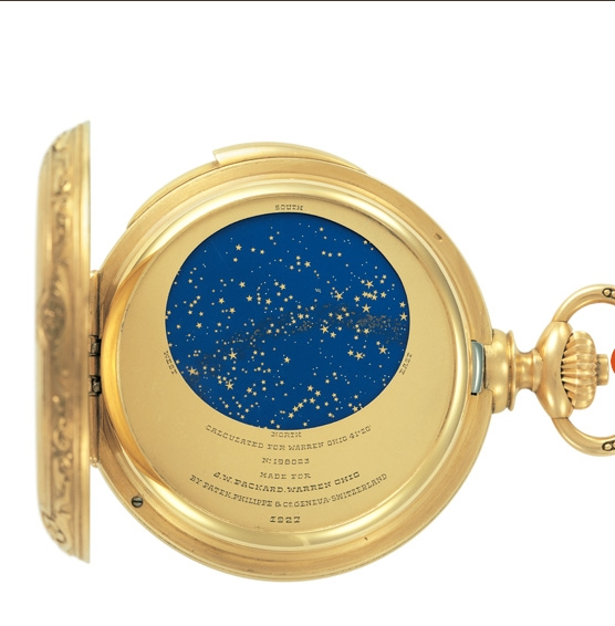 Patek Philippe Grand Exhibition 2017 New Yok Cipriani - James Ward Packard's Astronomical Pocket Watch 1925