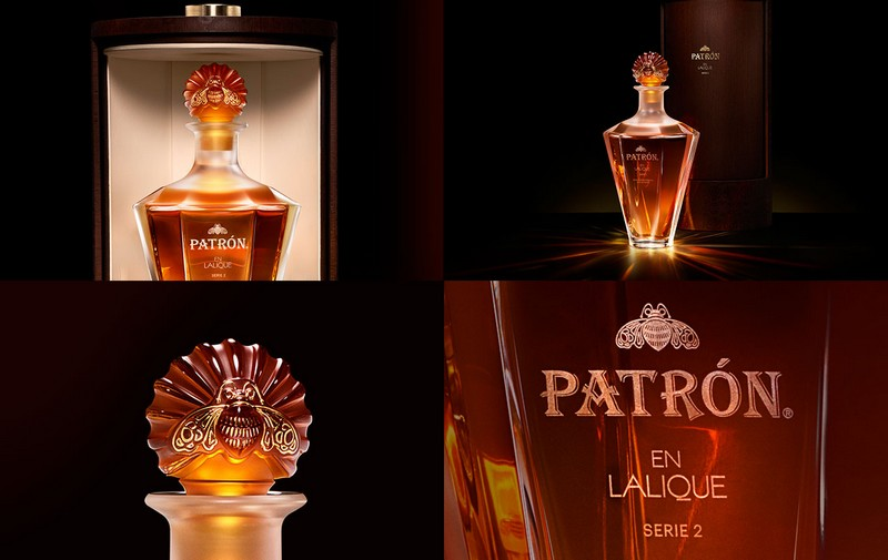 Patr 243 N Tequila And Lalique Second Exclusive Collaboration