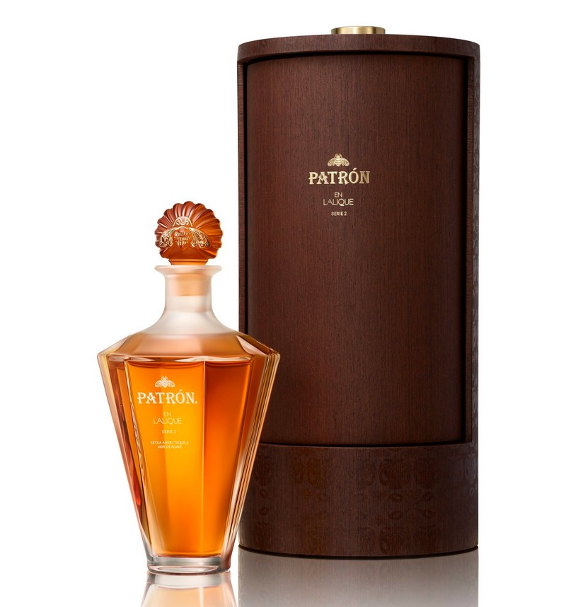 Patron tequila and Lalique have come together, once again, for an exclusive collaboration
