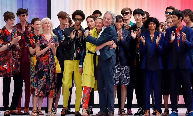 Paul Smith Spring Summer 2018 Show - finale