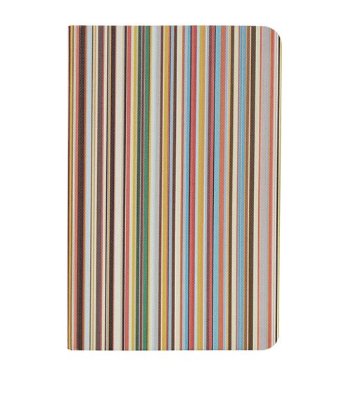 Paul Smith Striped A5 Notebook