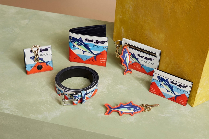Paul Smith clothes, shoes and accessories inspired by Tokyo's famous Tsukiji fish market