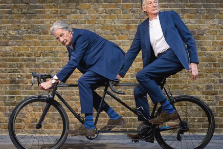 Paul Smith's Mercian Tandem: One of the most beautiful tandems in the entire world