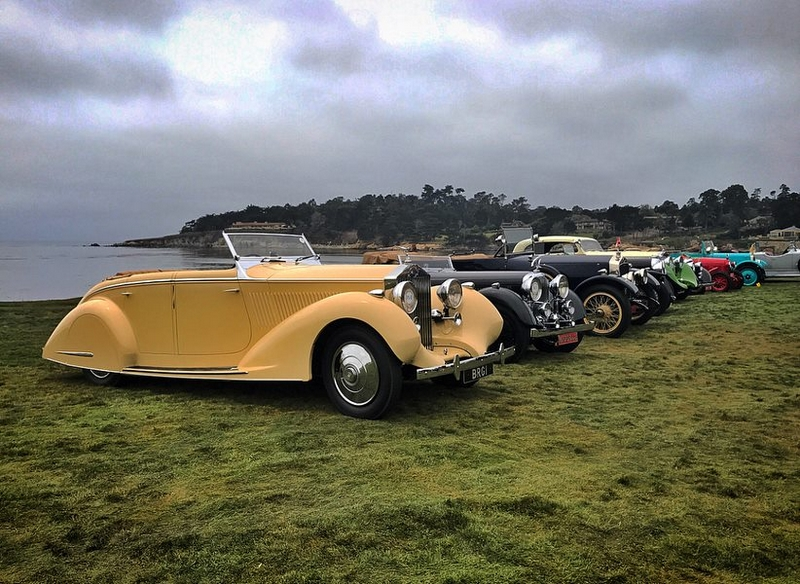 Pebble Beach Concours d'Elegance 2018 cars - photos