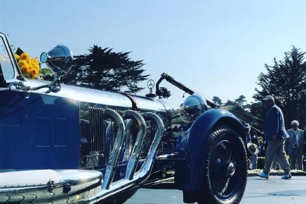 1929 Mercedes-Benz S Barker Tourer captured the top prize at the prestigious 2017 Pebble Beach Concours d'Elegance