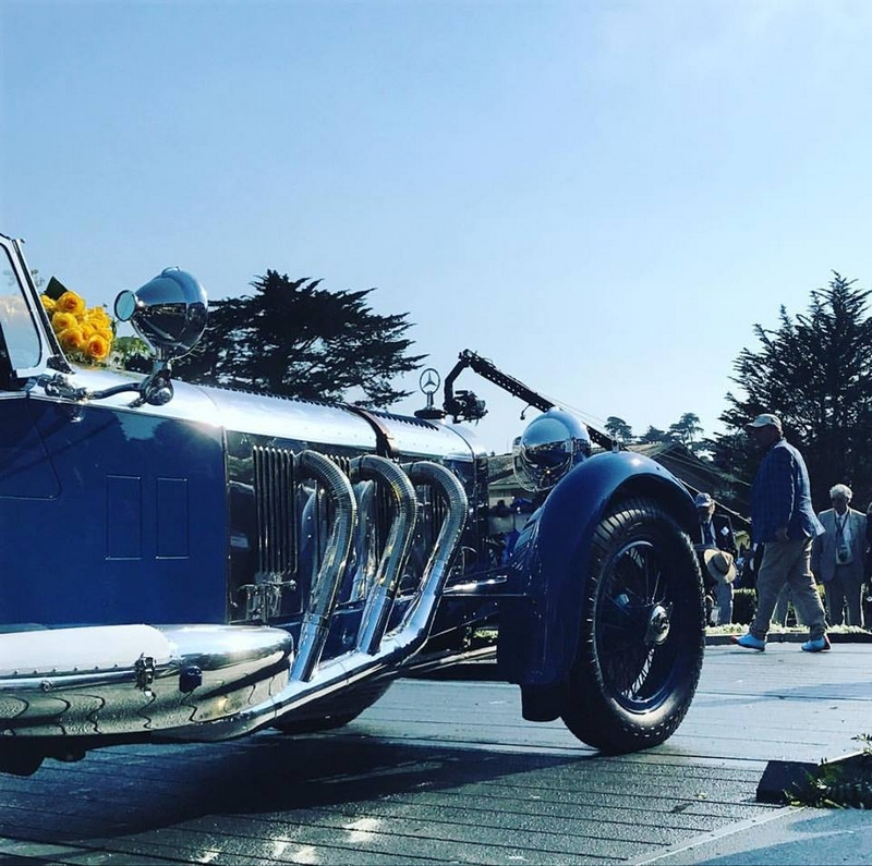 PebbleBeachConcours Best of Show winner is the 1929 Mercedes-Benz S Barker Tourer owned by Bruce McCaw