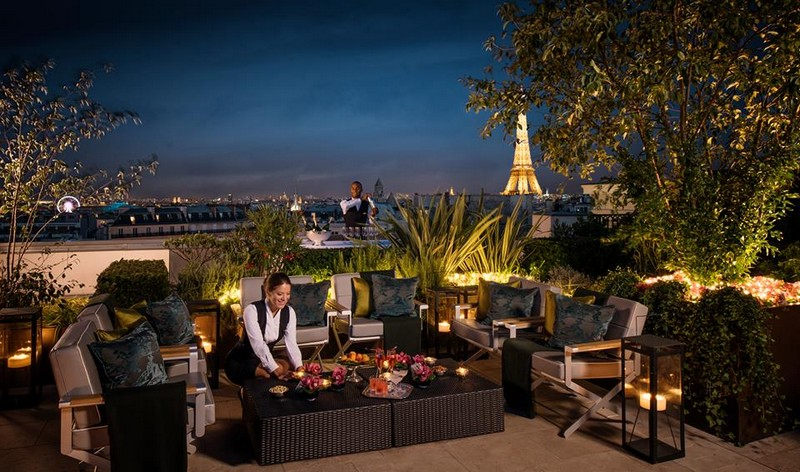 Peninsula Paris - Private terraces are made for unforgetable stays in Paris