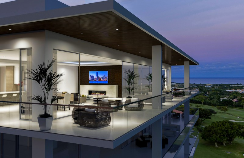 Penn-Florida Companies-Luxury-branded penthouse Residences in Downtown Boca Raton drawing worldwide interest