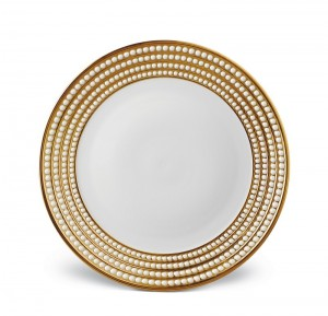 Perlee Gold by L'Objet luxury plates