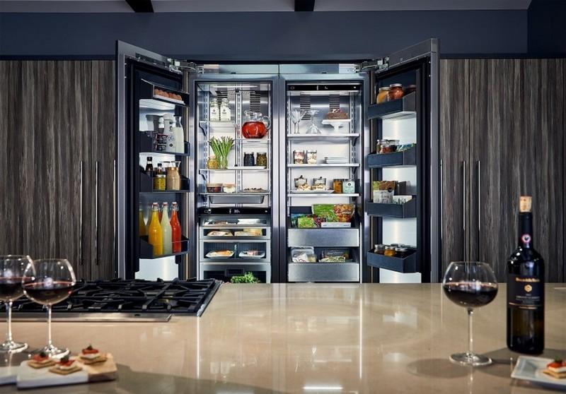 Perlick's innovative column refrigerator and freezer