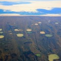 Permafrost thaw ponds