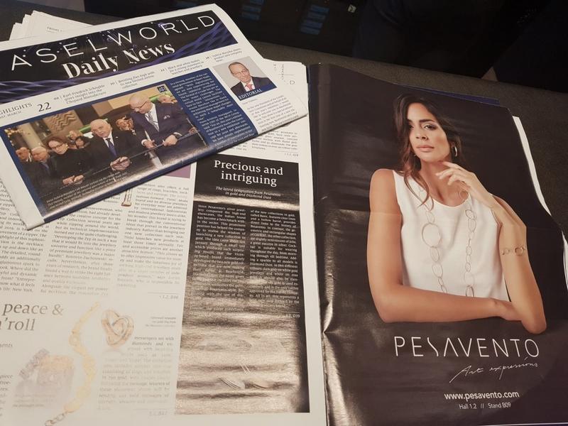 Pesavento at Baselworld 2019 press