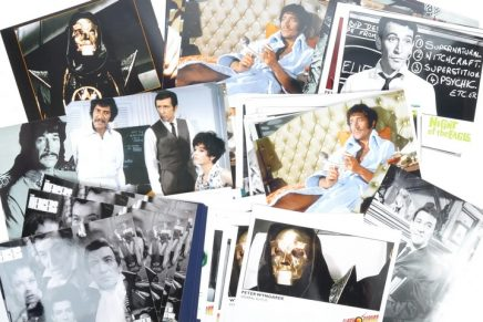 Peter Wyngarde memorabilia snapped up at auction