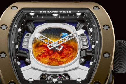 With the RM 52-05 Tourbillon Pharrell Williams, the Earth is observed from Mars