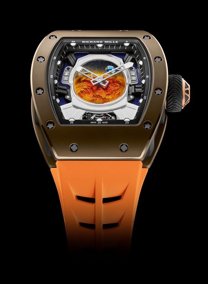 Pharrell Williams x Richard Mille RM 52-05 watch 2019
