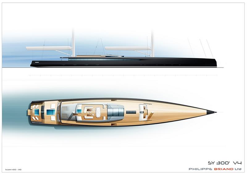 Philippe Briand's SY300 concept 2019 - sketches