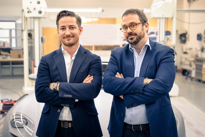 Piëch AUtomotive Founders - The two company founders, co-CEO and chairman Toni Piëch and co-CEO and creative director Rea Stark Rajcic