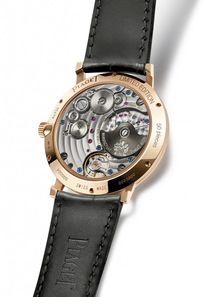 Piaget's SIHH 2019 collection watches-backcase