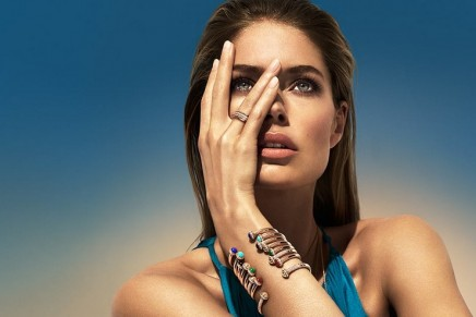 Doutzen Kroes evokes a world where anything is possible with the simple turn of a Piaget Possession ring