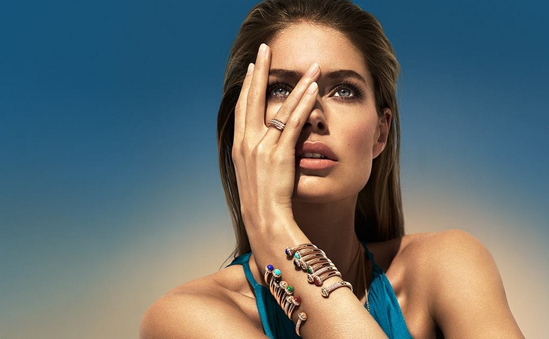Piaget Possession collection worn by the stunning Doutzen Kroes
