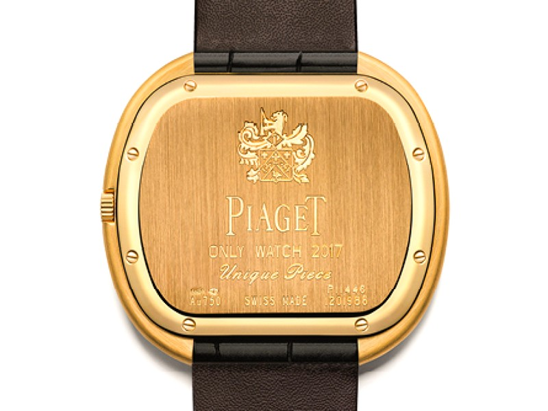 Piaget for Only Watch 2017