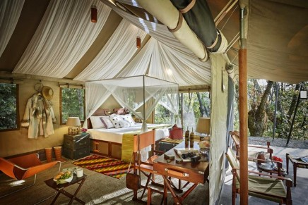 Above and Beyond: The Ultimate Travelling Camp