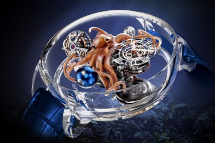 Piece-unique at Baselworld 2017: Jacob & Co. Astronomia Octopus