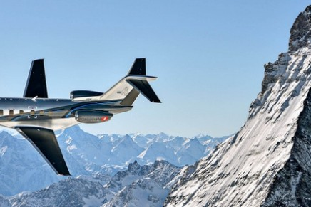This Pilatus PC-24 super versatile jet has the ability to land on unpaved runways–meaning it can take you just about anywhere
